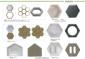 六棱块护坡钢模具 空心六角护坡砖模具开元国通塑料模具模盒厂